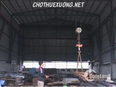 Cho thuê nhà xưởng Thanh Hóa, Hậu Lộc DT 6010m2 vị trí đẹp tiện đi lại.