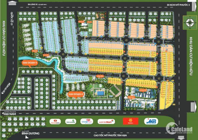 Mở bán khu đô thị Phương Trường An | Giá 750tr/nền, CK cao