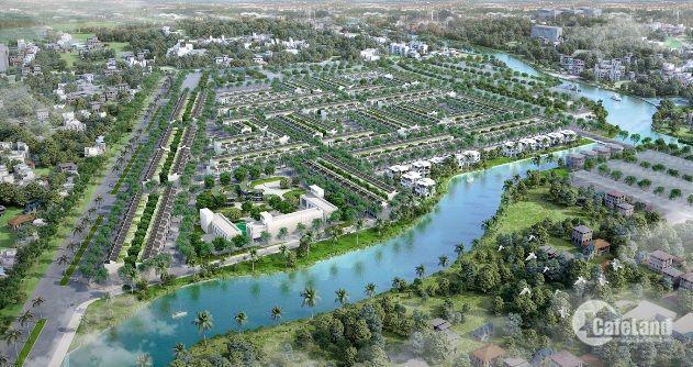 Đất nền dự án T&T Long Hậu, 100m2, đối diện công viên. Giá 1 tỷ 200