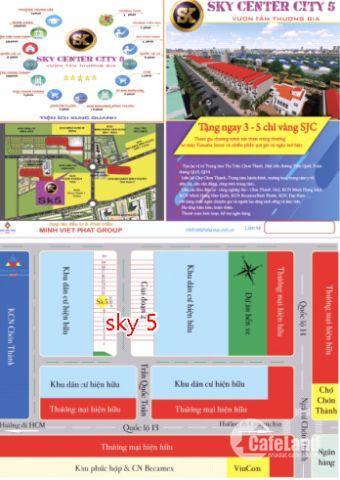 sky center city 5, sự lựa chọn của các thương gia