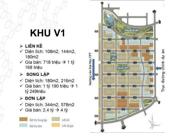 Đất nền Đà Nẵng- Dự án Khu đô thị công nghệ Xanh FPT Đà Nẵng giai đoạn 2