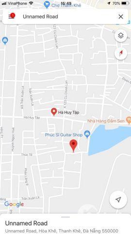 chính chủ bán đất kiệt 3,5m Hà Huy Tập, cách đường 50m