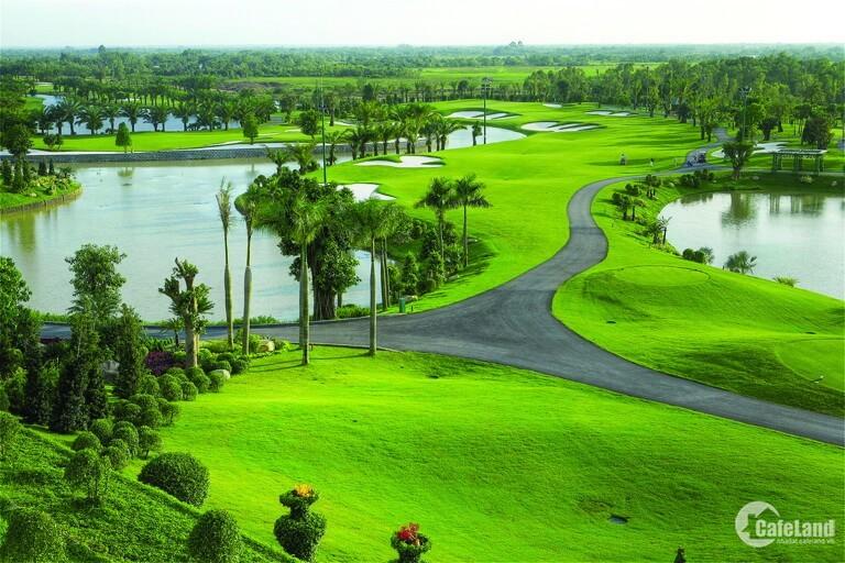 Biệt thự sân Golf Long Thành, 15 tr/m2. MT 20m