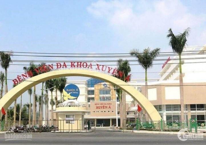 Chỉ 12tr/m2-14tr/m2 MT Nguyễn Thị Lắng, kề bệnh viện Xuyên Á, KCN Tân Phú Trung