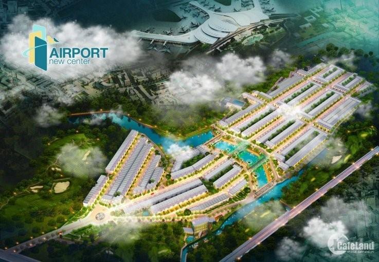 Đất nền Airport Newcenter 20ha giá 11tr/m2 sổ đỏ xây tự do, pháp lý đầy đủ