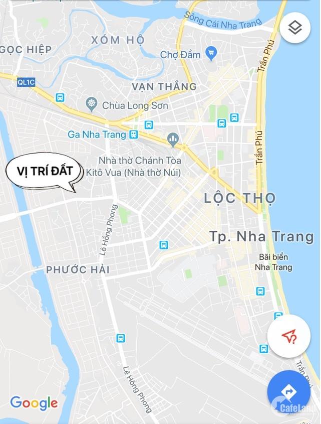 Bán đất 2 mặt tiền đường số 4 KĐTLê Hồng Phong 2 Nha Trang giá tốt