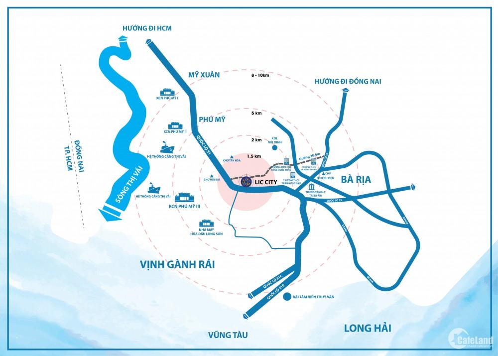 đất nền dự án LIC CITY tâm điểm thương cảng phồn hoa