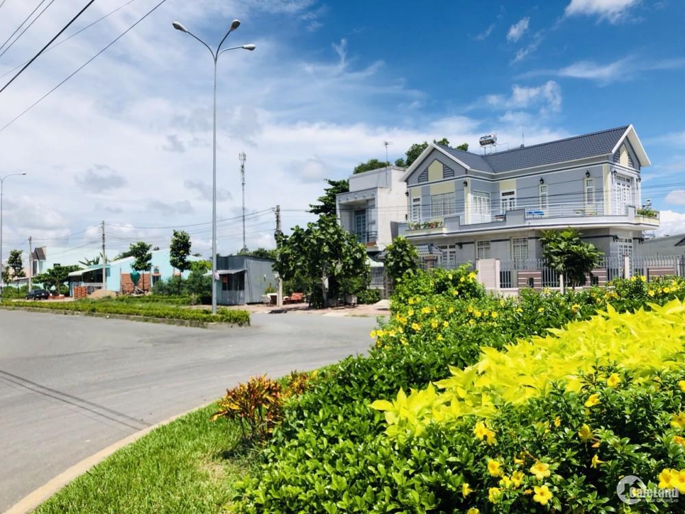 Bán lô đất nền kdc Minh Linh gần chợ Vĩnh Long, sổ hồng giá 1.1 tỷ/100m22