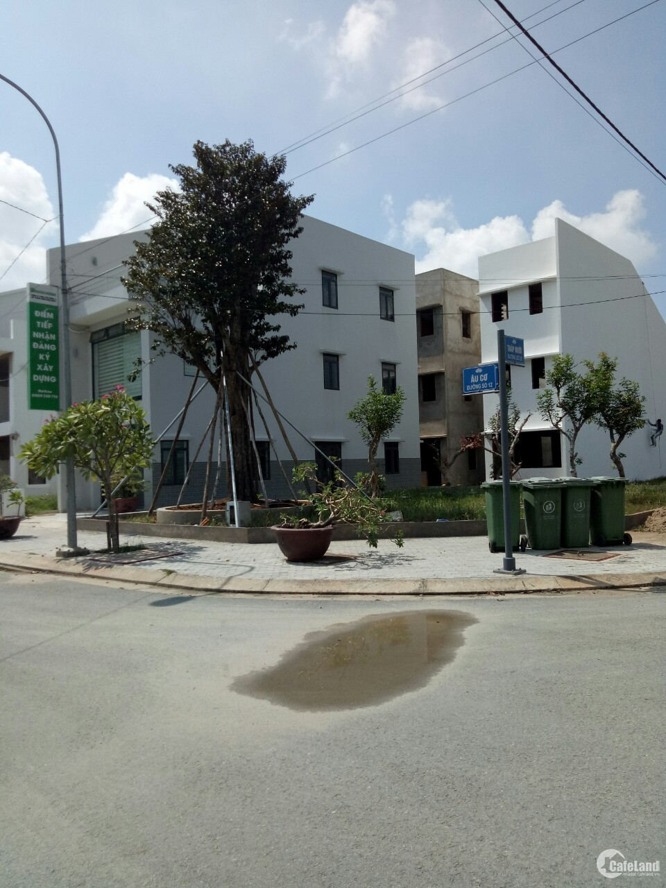 Chính chủ cần bán căn nhà mặt tiền đường 1 trệt ,3 lầu gần Cầu Xáng