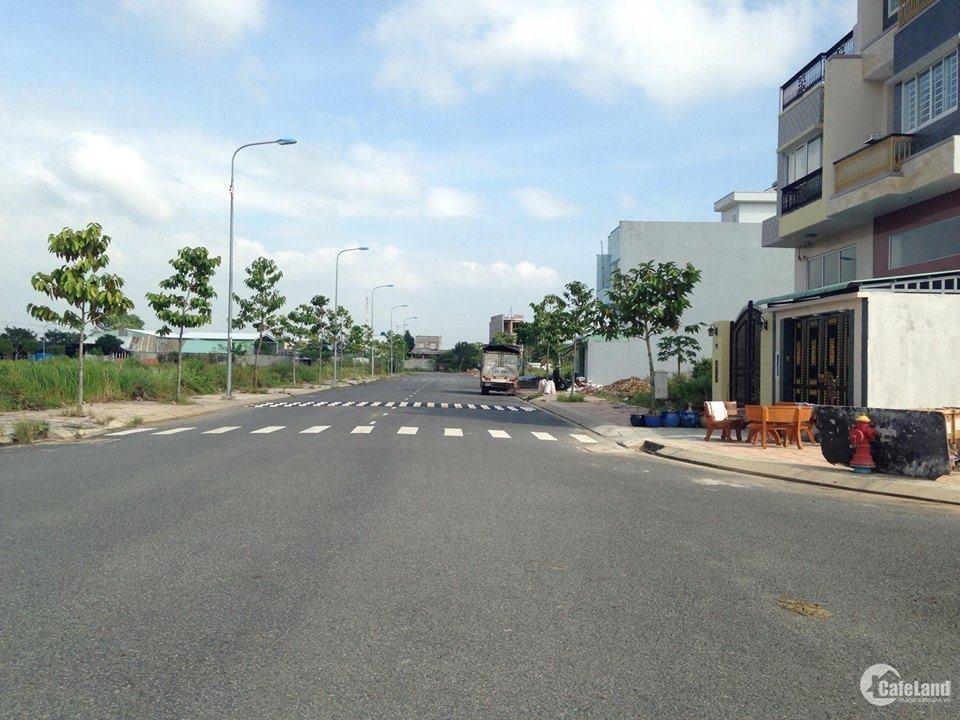 Cần tiền mua thêm xe, bán gấp nền đất 100m2 ngay co.opmart Vĩnh Lộc