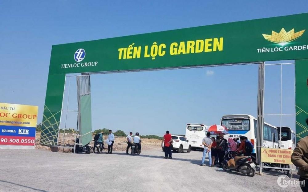 Khu đô thị Tiến Lộc Garden chỉ còn vài nền suất nội bộ,Ck cao 300tr.nền, thanh toán 50% nhận nền
