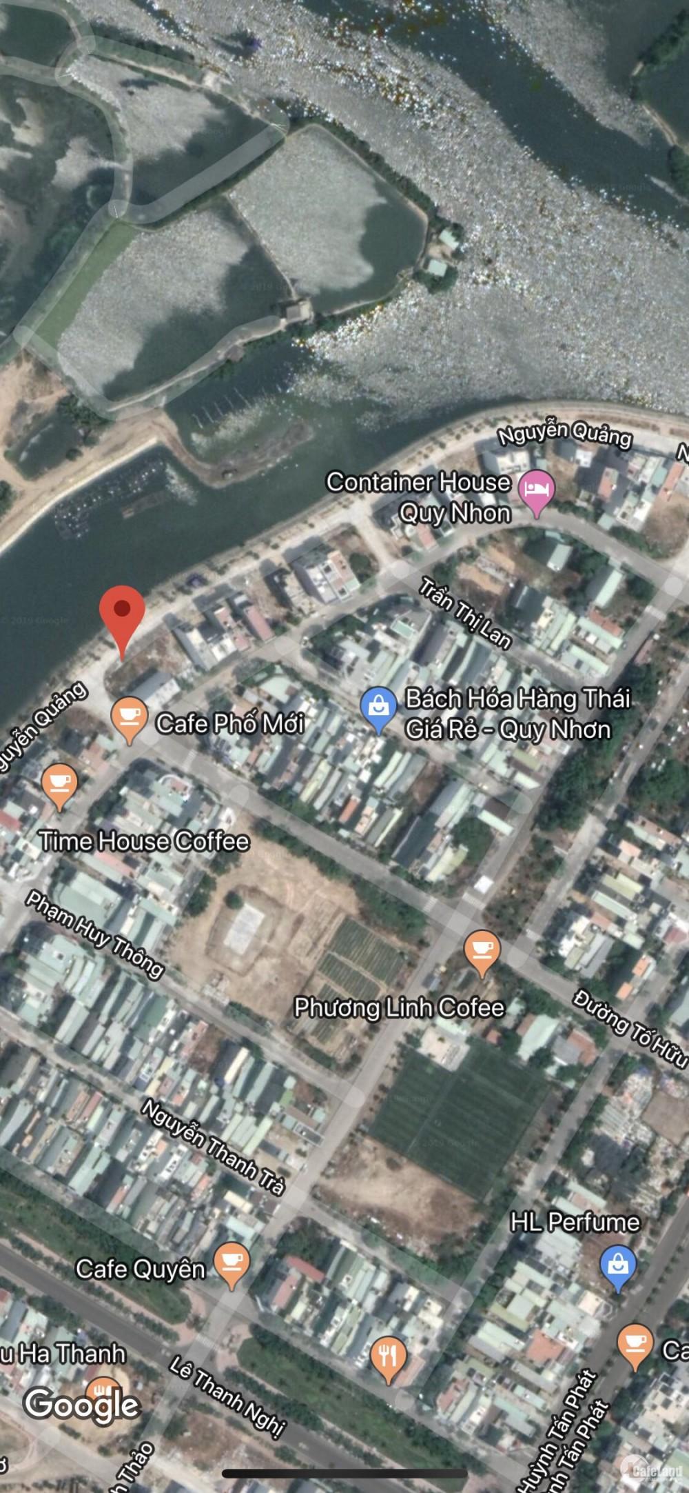 Chính chủ cần bán lô đất  2 mặt tiền Tố Hữu, Bình Định.