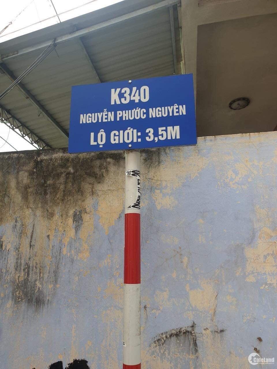 bán lô đất kietj 340 nguyễn phước nguyên gần chợ cách đường chính 20m vị trí qá đệp