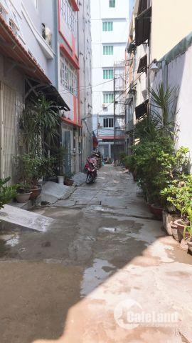 Nhà 1 trệt 3 lầu 56m2 đường Nguyễn Lũy phường 12 Bình Thạnh