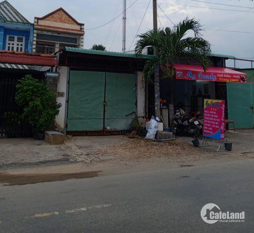 Bán nhà mặt tiền Nguyễn Thị Thảnh-Hóc Môn đang cho thuê DT 100m giá 1.2 tỷ