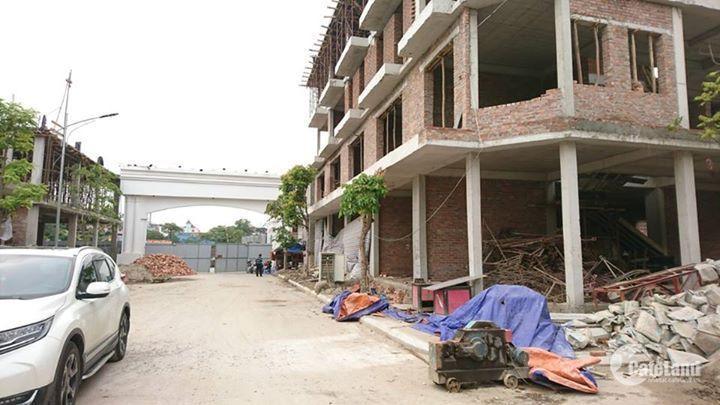 Bán khu nhà liền kề tân cổ điển đường vòng Cầu Niệm, Lê Chân,Hải Phòng