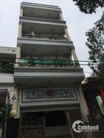 Nhà bán MT đường Hai Bà Trưng, Q1. Đoạn đẹp, gần CV Lê Văn Tám 4,5m x 18m, trệt, 4 lầu
