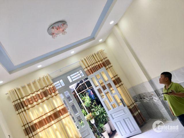 Bán nhà mới HẺM XE HƠI 5m Thông PHẠM VĂN CHIÊU 50m2 giá 3.5x tỷ