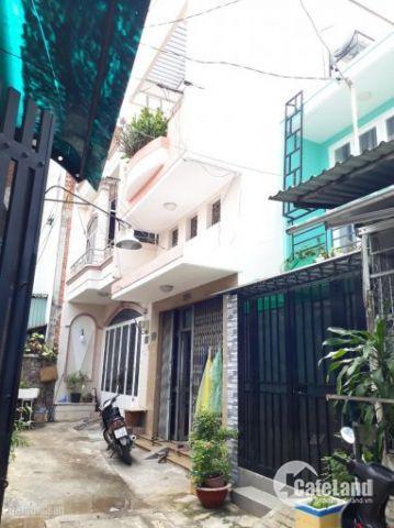 Bán nhà hẻm HXH 1/ Nguyễn Sơn, dt 4x12m, 1 lửng 1 lầu, Giá 4.39 tỷ Tl