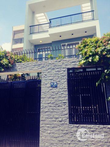 Bán Nhà Kiểu Biệt Thự MiNi 175m2 (6.5 x 26) đường huy hoạch 20m , giá 9,19 tỷ  cạnh CoopMart Bình Triệu