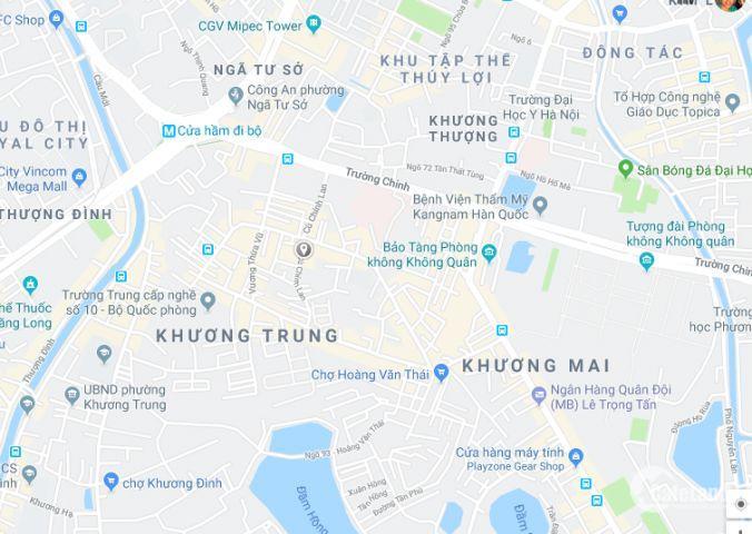 Bán nhà Cù Chính Lan, ngõ oto, 45mx4T, giá chỉ 4.3 tỷ