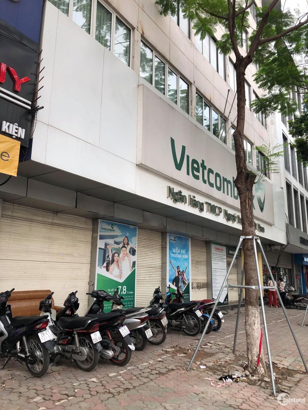Cho thuê nhà mặt phố Nguyễn Văn Huyên 70m2 3 tầng mặt tiền 9m
