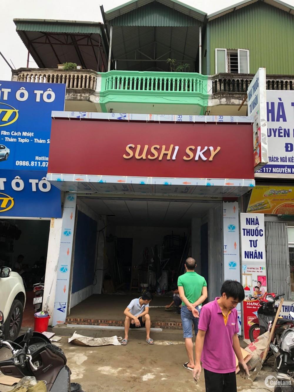 Cho thuê nhà mặt phố Nguyễn Khuyến  100m2