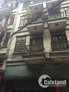 Cho thuê nhà trong ngõ Nguyễn Xiển, 75m x6 tầng, 42tr/th