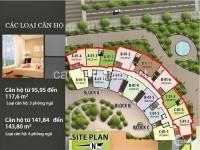 Bán căn hộ Him Lam Riverside - Căn hộ 118m2, 03PN, 3WC, giá 3,85 tỷ
