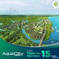 Chỉ 1,2 tỷ sở hữu ngay biệt thự 120m2 khu đô thị xanh Aqua City - Novaland