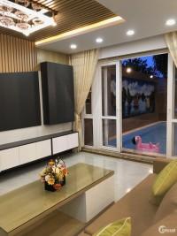 Nhà Biệt Thự đẳng cấp, 4.5 mê đường Thăng Long - Hoà Cường - HChâu  ful nội thất