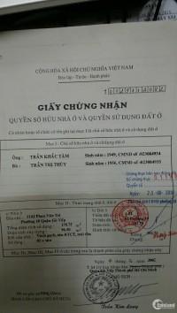Bán nhà mặt tiền đường PHAN VĂN TRỊ phường 10 quận GÒ VẤP LH 090.13.23.176