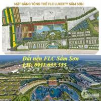 Bán đất liền kề FLC Sầm Sơn lk 16 đầu ve giá rẻ cho khách đầu tư LH 0911633555