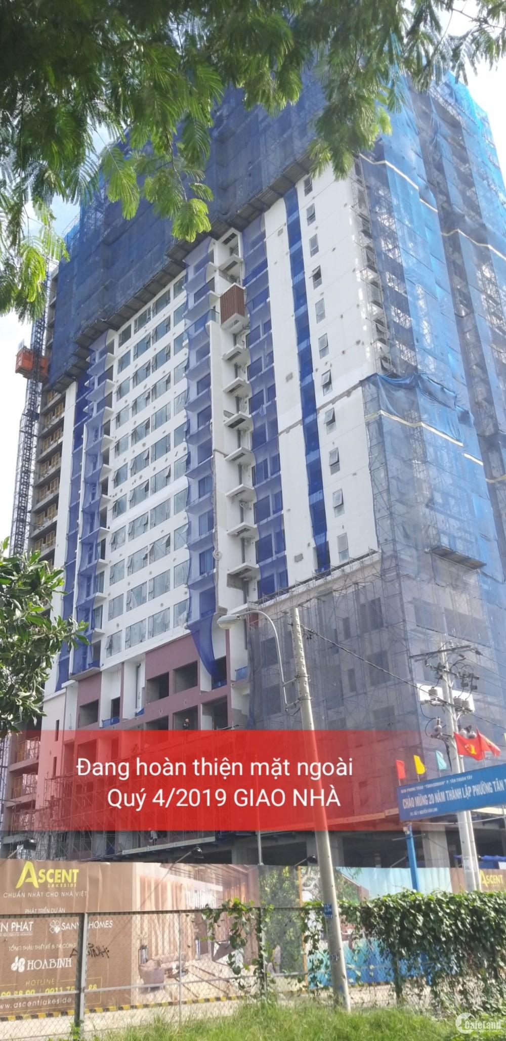 Căn hộ văn phòng mặt tiền đường Nguyễn Văn Linh Q7
