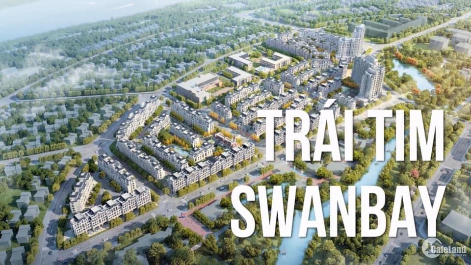 Swan bay Shophouse nằm ngay trung tâm vị trí đắt địa dự án mở bán ngày 20/07