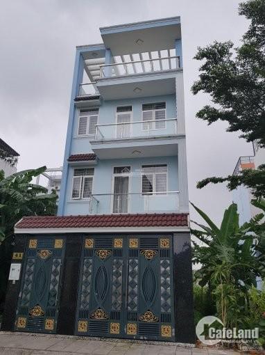 Biệt thự Mặt tiền Cao Đức Lân – Lương Định Của An Phú Quận 2 DT 10x20m, hầm tr
