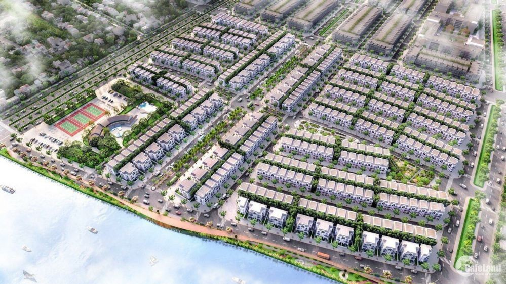 Lavilla Green City, biệt thự ven sông ngay trung tâm hành chính, TP. Tân An