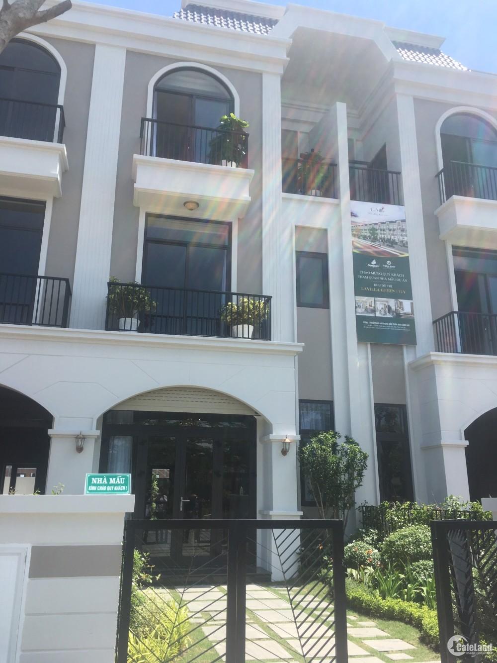 Mở bán 200 căn biệt thự ven sông duy nhất tại thành phố Tân An, Long An.
