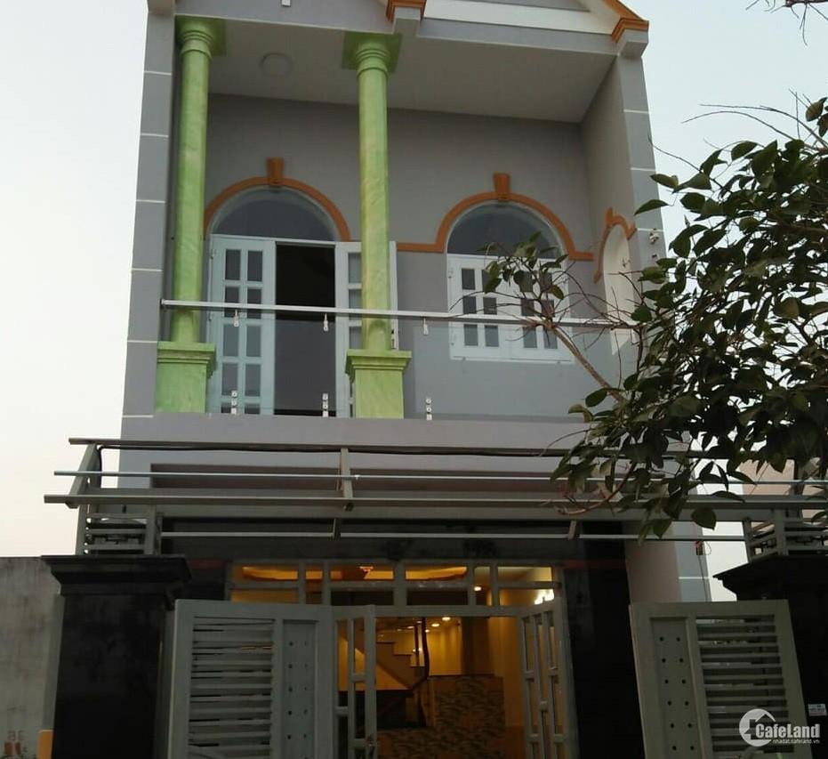 Bán Nhà mới xây 5x16 giá 850tr,cho trả góp gần Cầu Vượt Củ Chi