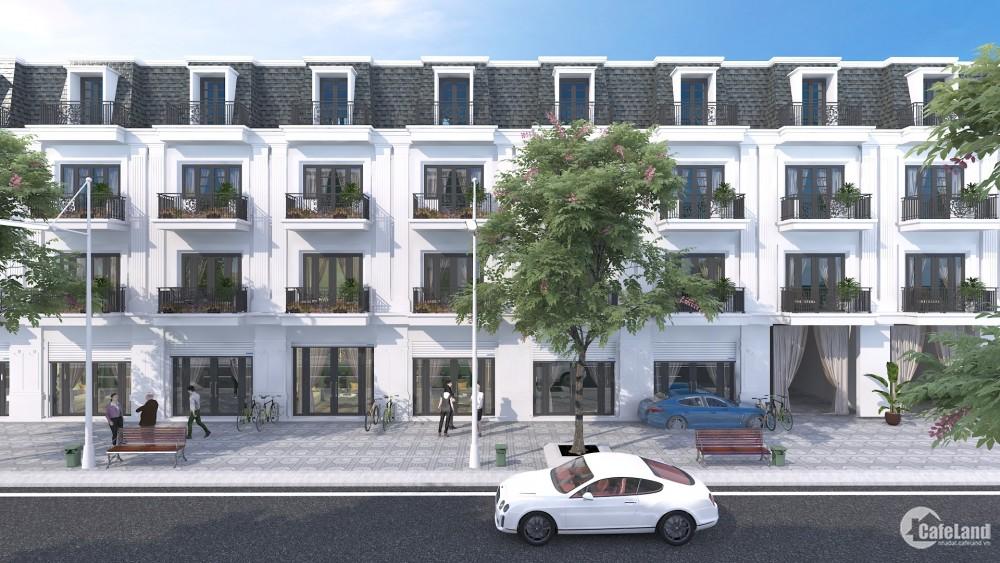 Việt Phát South City sở hữu ngay nhà 4 tầng kiểu Pháp giá chỉ từ 750 triệu