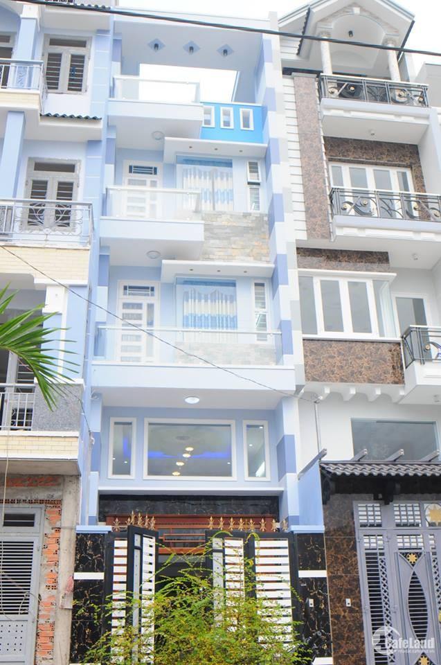 Bán gấp nhà 4,6x12m 4 Tầng HXH Nguyễn Bỉnh Khiêm P. Bến Nghé Quận 1 Giá 13,8t