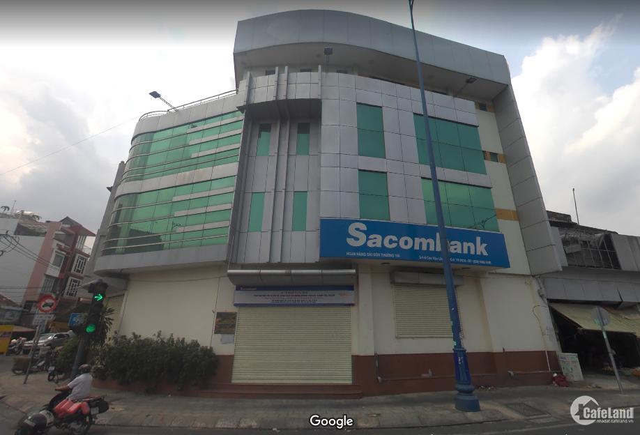 Bán tòa nhà 2 mặt tiền Đường Võ Văn Kiệt, Quận 6. DT: 8,2 x 20m, 4 lầu, Giá chỉ
