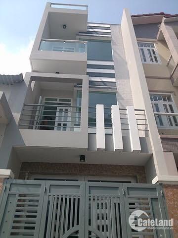 Nhà 1 trệt 2 lầu mt LK 4-5, dt 4x12m2, sổ hồng riêng