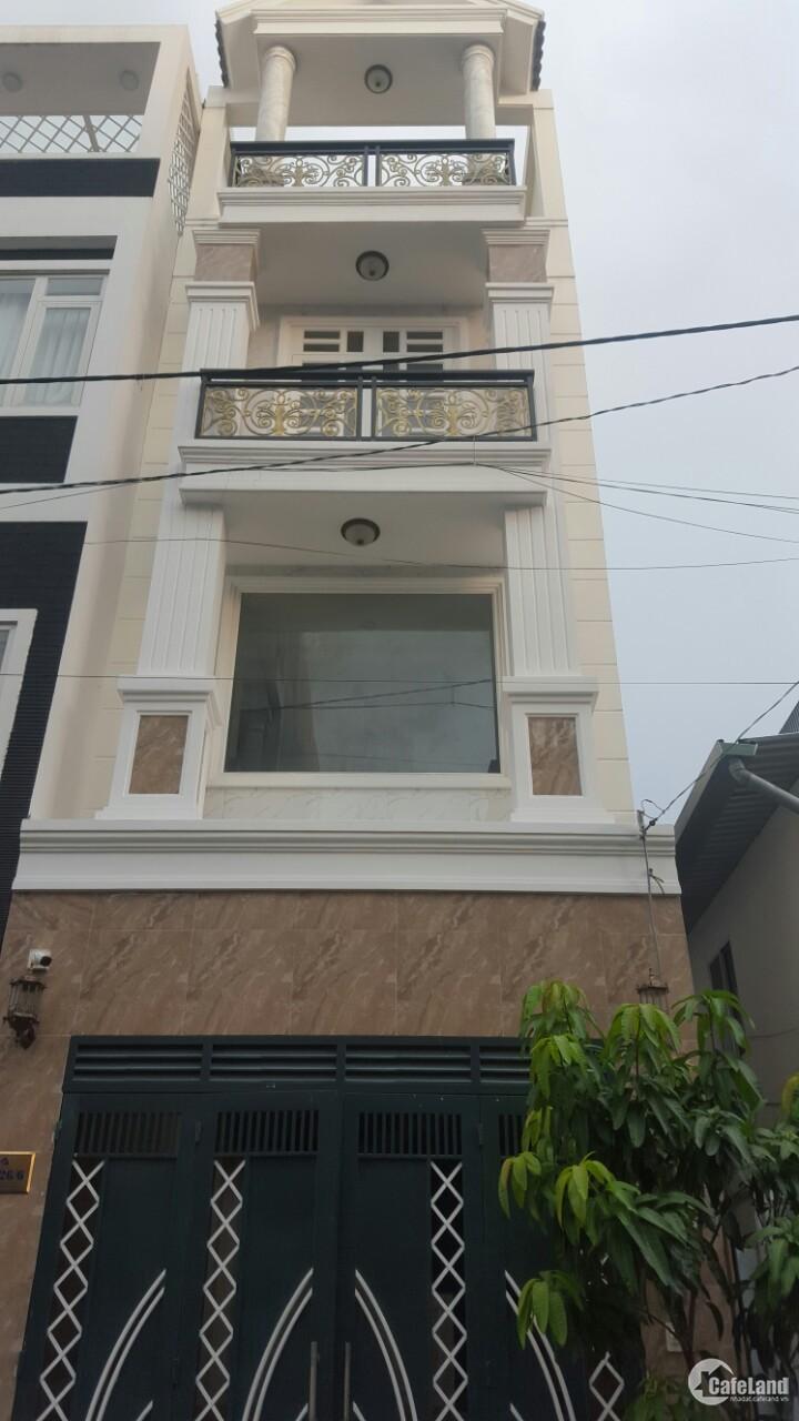 Nhà riêng 68 m2. SHR hoàn công. 1 trệt 3 lầu HBC, Thủ Đức.