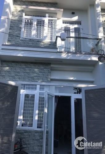 Nhà nằm ngay QL50, mới xây 1 trệt 1 lầu sổ riêng chính chủ.