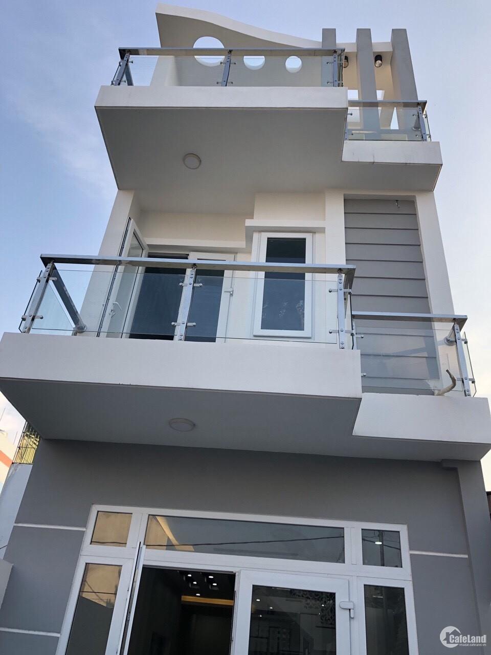 Chính Chủ Cần bán nhà 1 trệt 2 lầu ở Tô Ký-Hóc Môn 80m2 Sổ Hồng Riêng giá 1 tỷ 6