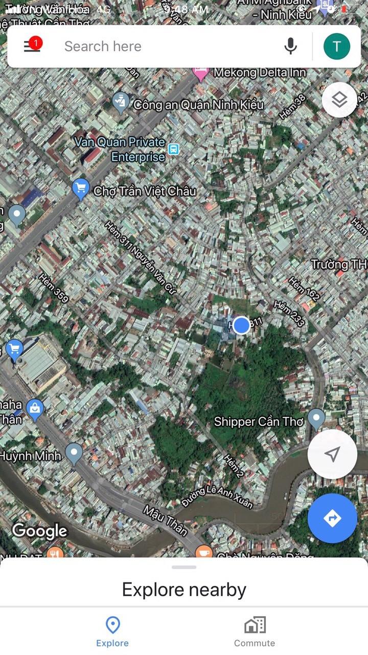 Bán nhà mới 100% hẻm 311 Nguyễn Văn Cừ - 2.05 tỷ
