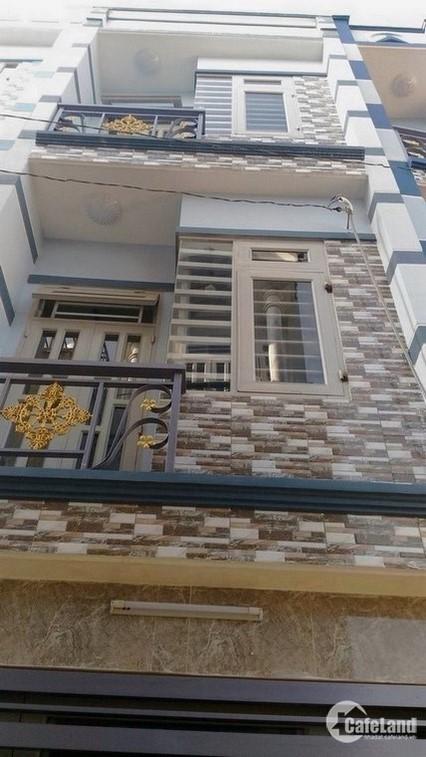 Nhà 2 lầu đẹp mới xây coi nhà là ưng ngay 1,38 tỷ cuối đường Lê Đức Thọ