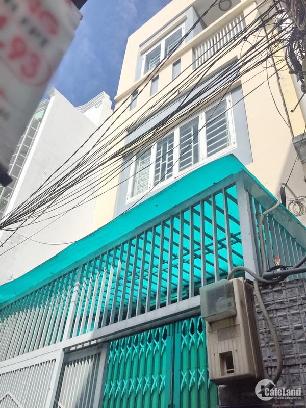 Bán nhà 2 lầu đúc 2 mặt tiền hẻm 48 Mai Văn Vĩnh quận 7.