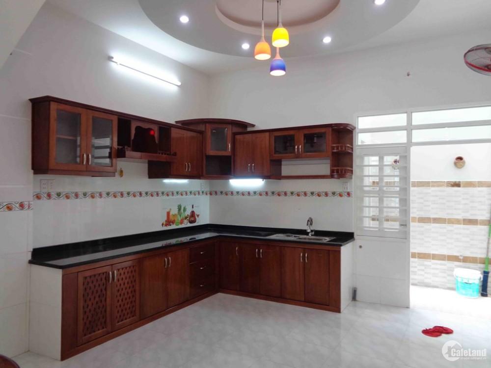 Cần bán nhà 1 trệt 2 lầu MT Đường số 6, dt 4x12m2, sổ hồng riêng
